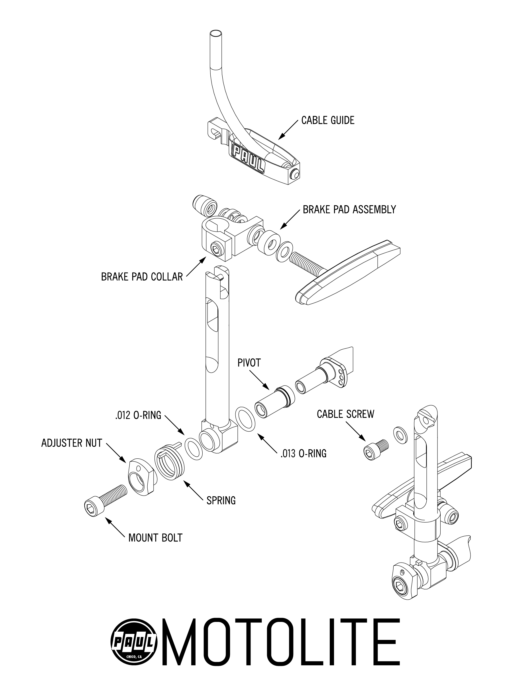 Exploded Assembly Drawing